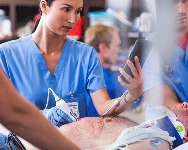 Philips Lumify Ultrassom para Tablets
