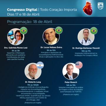 Congresso Digital de Ecocardiografia Philips - 17 de Abril